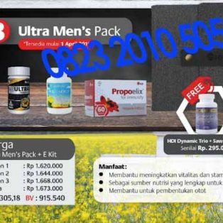 Paket Bee Ultra Men's Pack HDI